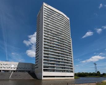 Kamer in Groningen, Boumaboulevard op Kamernet.nl: Luxe appartement naast de Euroborg