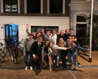 Kamer in Delft, Spoorsingel op Kamernet.nl: Kamer in gezellig studententhuis