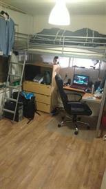 Kamer in Tilburg, Coba Pulskenslaan op Kamernet.nl: Studentenkamer van 11 m2