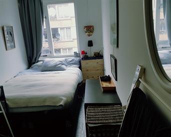 Kamer in Amsterdam, Bataviastraat op Kamernet.nl: Spacious double room near Flevopark