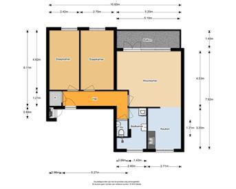 Kamer in Almere, Basilicumweg op Kamernet.nl: Volledig gerenoveerd appartement te huur