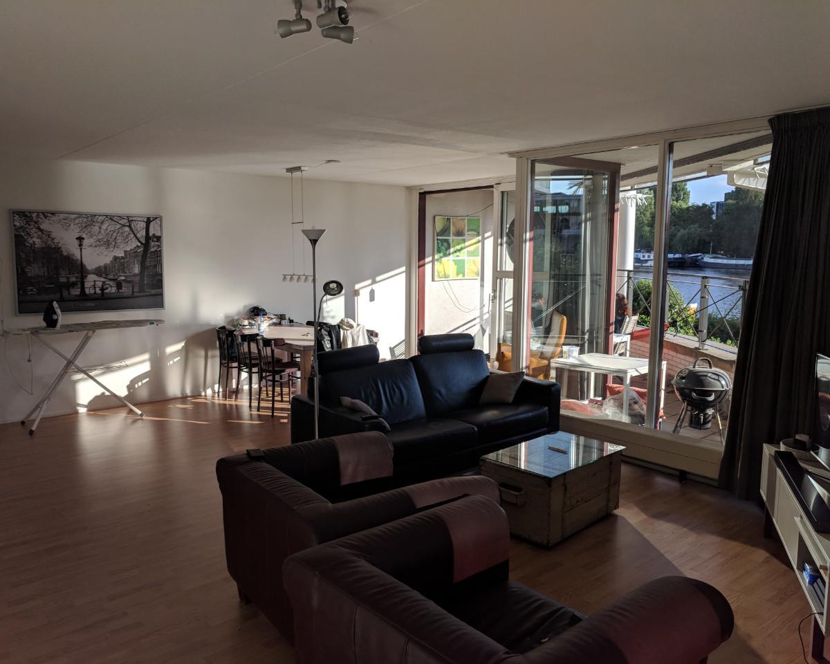 Kamer aan Omval in Amsterdam