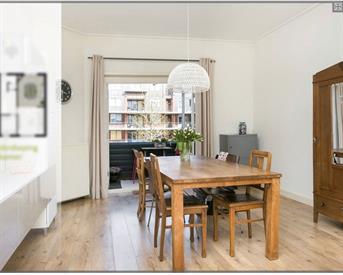 Kamer in Arnhem, Van Oldenbarneveldtstraat op Kamernet.nl: Mooie 18m2 kamer met privé balkon
