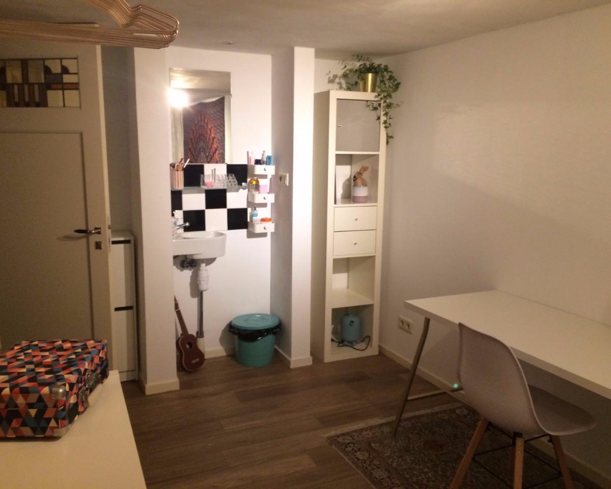 Kamer aan Haddingestraat in Groningen