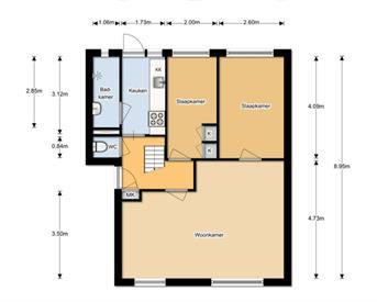 Kamer in Leeuwarden, Dennenstraat op Kamernet.nl: Op zoek naar een (v) huisgenoot