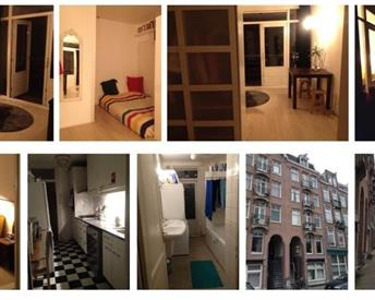 Kamer in Amsterdam, Jacob van Lennepkade op Kamernet.nl: Furnished room to sublet for August