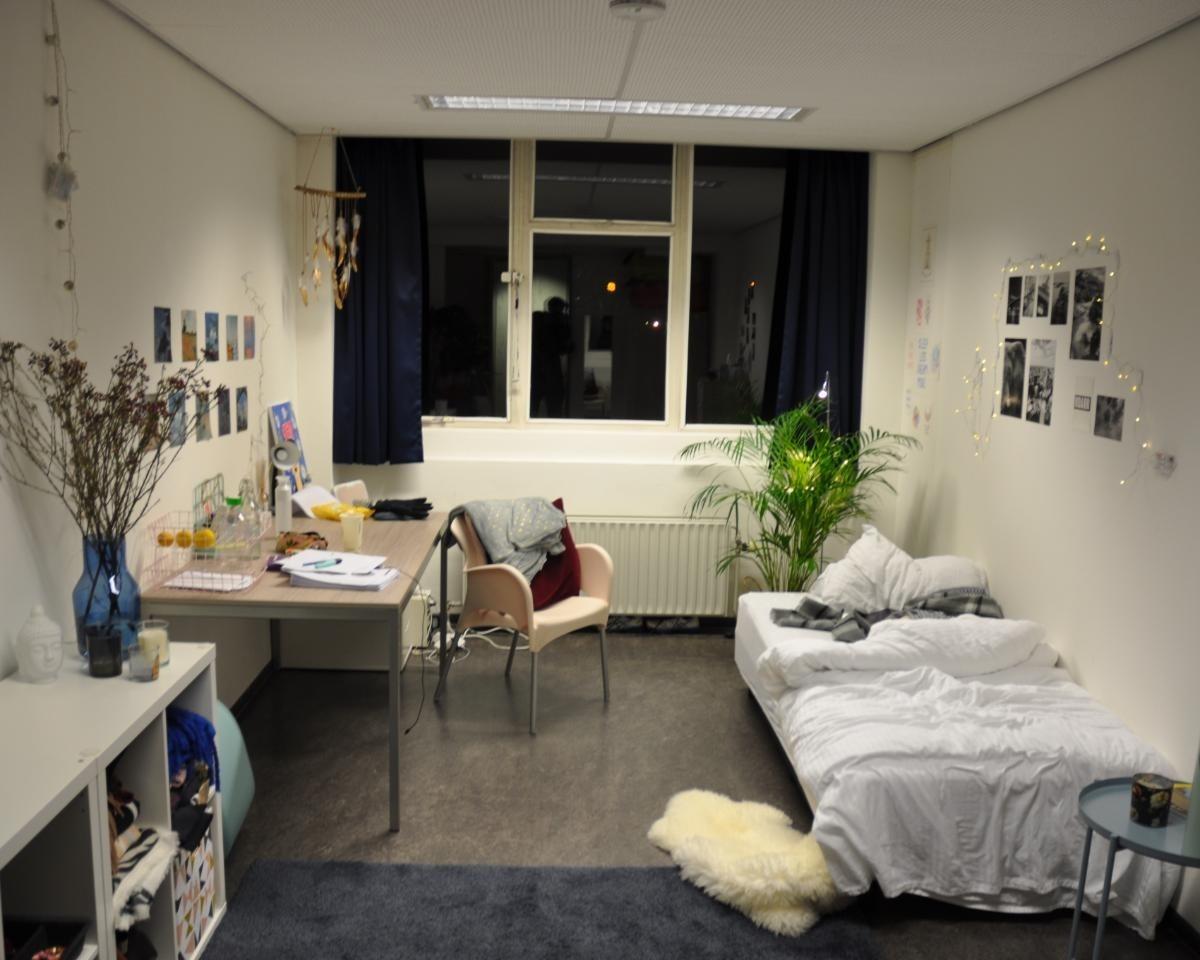 Kamer te huur op het Dreijenplein in Wageningen