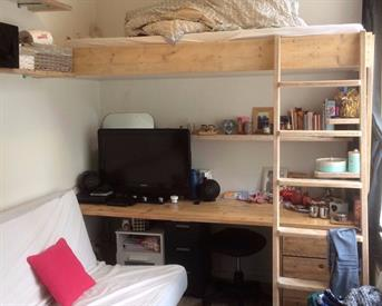 Kamer in Groningen, Eendrachtskade op Kamernet.nl: Mooie,  rustig gelegen kamer. Centrum.