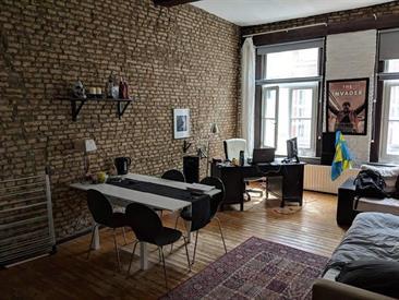 Kamer in Maastricht, Lenculenstraat op Kamernet.nl: Sfeervolle semi-studio met eigen keukenblok