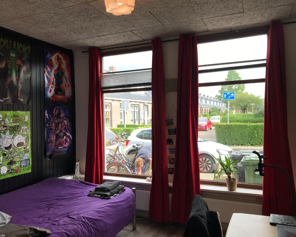 Kamer te huur in de Woudstraat in Leeuwarden