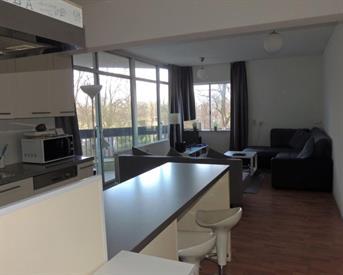 Kamer in Amsterdam, Groenhoven op Kamernet.nl: Fraai 2-kamer appartement, mooi balkon, OV-gunstig