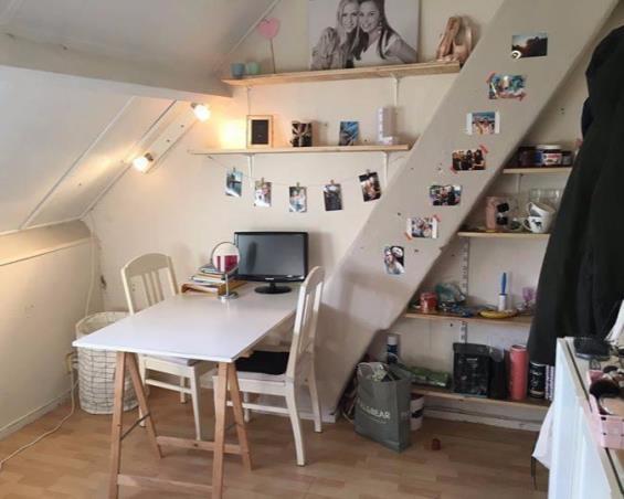 Kamer aan Sint Annaplein in Tilburg