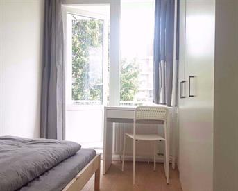 Kamer in Amsterdam, Botterstraat op Kamernet.nl: Single room with balcony in Noord