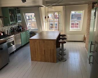 Kamer in Amsterdam, Fagelstraat op Kamernet.nl: Fantastisch appartement te huur