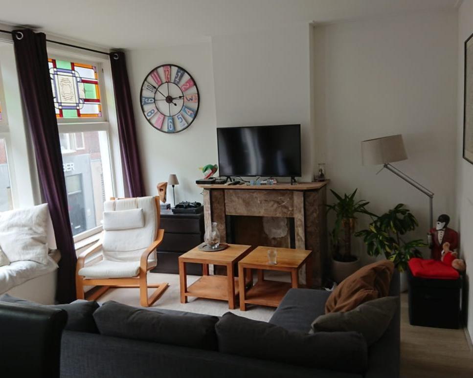 Kamer te huur in de Haarlemmerstraat in Leiden