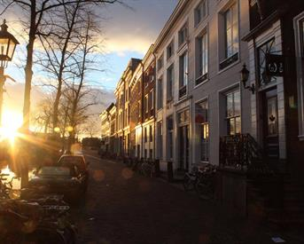 Kamer in Delft, Oude Delft op Kamernet.nl: ruim wonen aan de gracht
