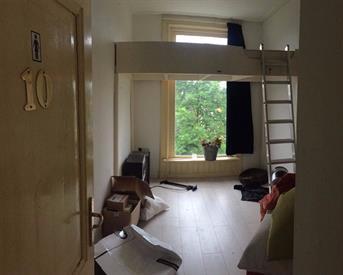 Kamer in Groningen, H.W. Mesdagstraat op Kamernet.nl: Top kamer met hoogslaper