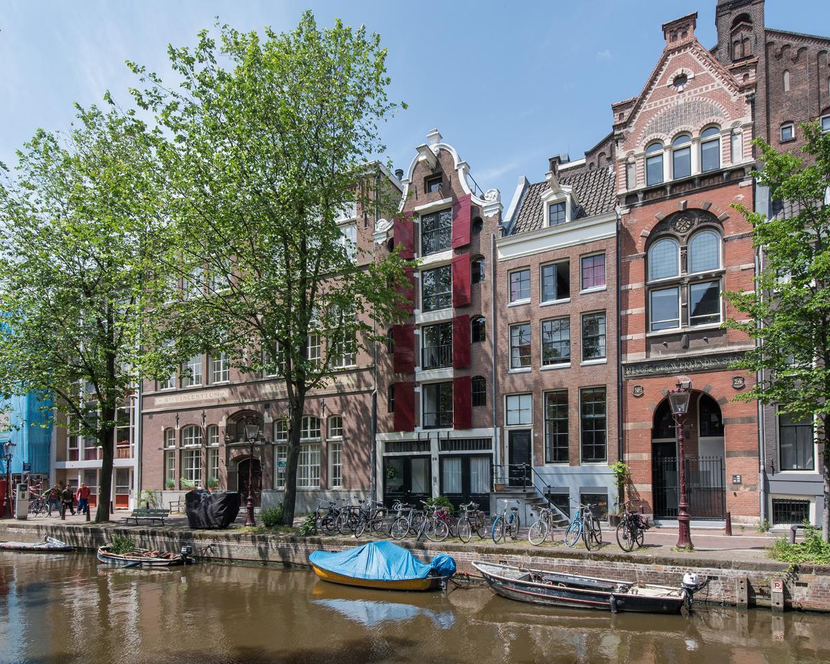 Kamer te huur in de Groenburgwal in Amsterdam
