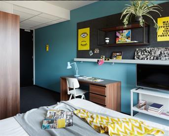 Kamer in Groningen, Boterdiep op Kamernet.nl: Room Available @ The Student Hotel