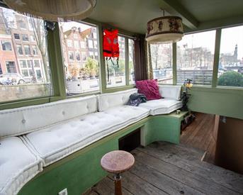 Kamer in Amsterdam, Prinsengracht op Kamernet.nl: Woonboot Jordaan