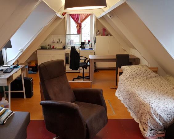 Kamer aan Marwixstraat in Groningen