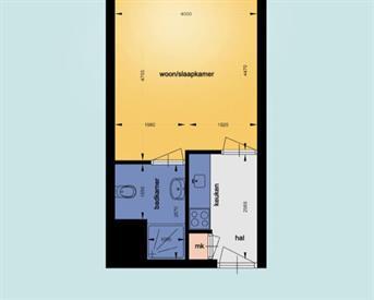 Kamer in Nijmegen, Graspieperhof op Kamernet.nl: Tijdelijke ruime studio beschikbaar!