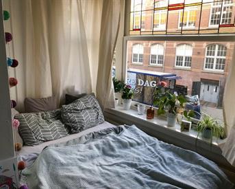 Kamer in Amsterdam, Reinier Claeszenstraat op Kamernet.nl: (temp) bright and nice room in central location