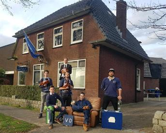 Kamer in Enschede, Dr. Zamenhoflaan op Kamernet.nl: Villa Delphia