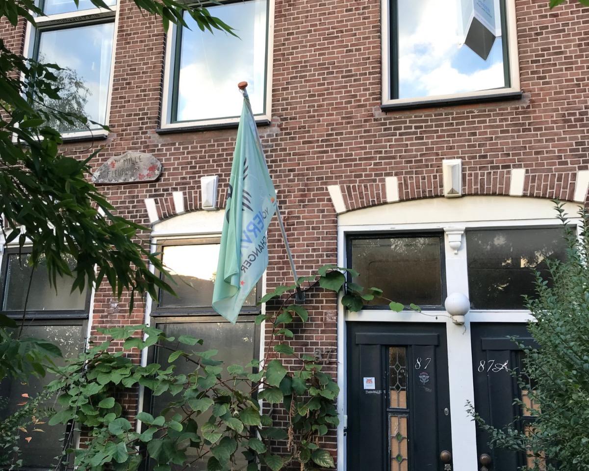 Kamer aan Rijnsburgerweg in Leiden