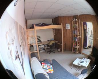 Kamer in Groningen, Korreweg op Kamernet.nl: Mooie kamer in studentenhuis