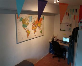 Kamer in Delft, Menno ter Braaklaan op Kamernet.nl: 9.5m2 kamer met grote GR