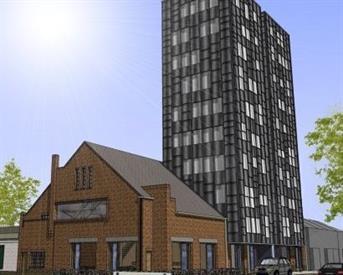 Kamer in Tilburg, Schoenerstraat op Kamernet.nl: A1 locatie apartement aan Piushaven/Schoenerstraat
