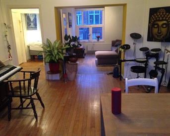 Kamer in Amsterdam, Lumeijstraat op Kamernet.nl: Appartement met veel licht en balkon