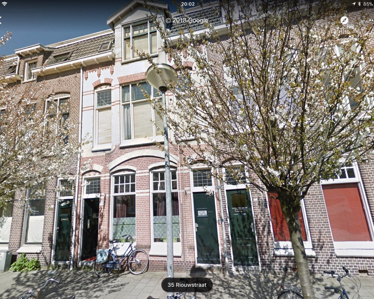 Kamer aan Riouwstraat in Groningen