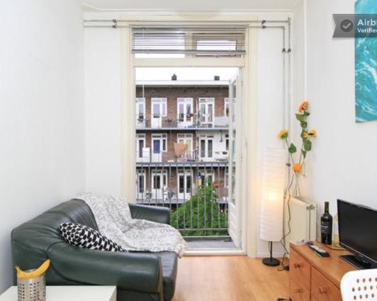 Appartement aan Bos en Lommerweg in Amsterdam