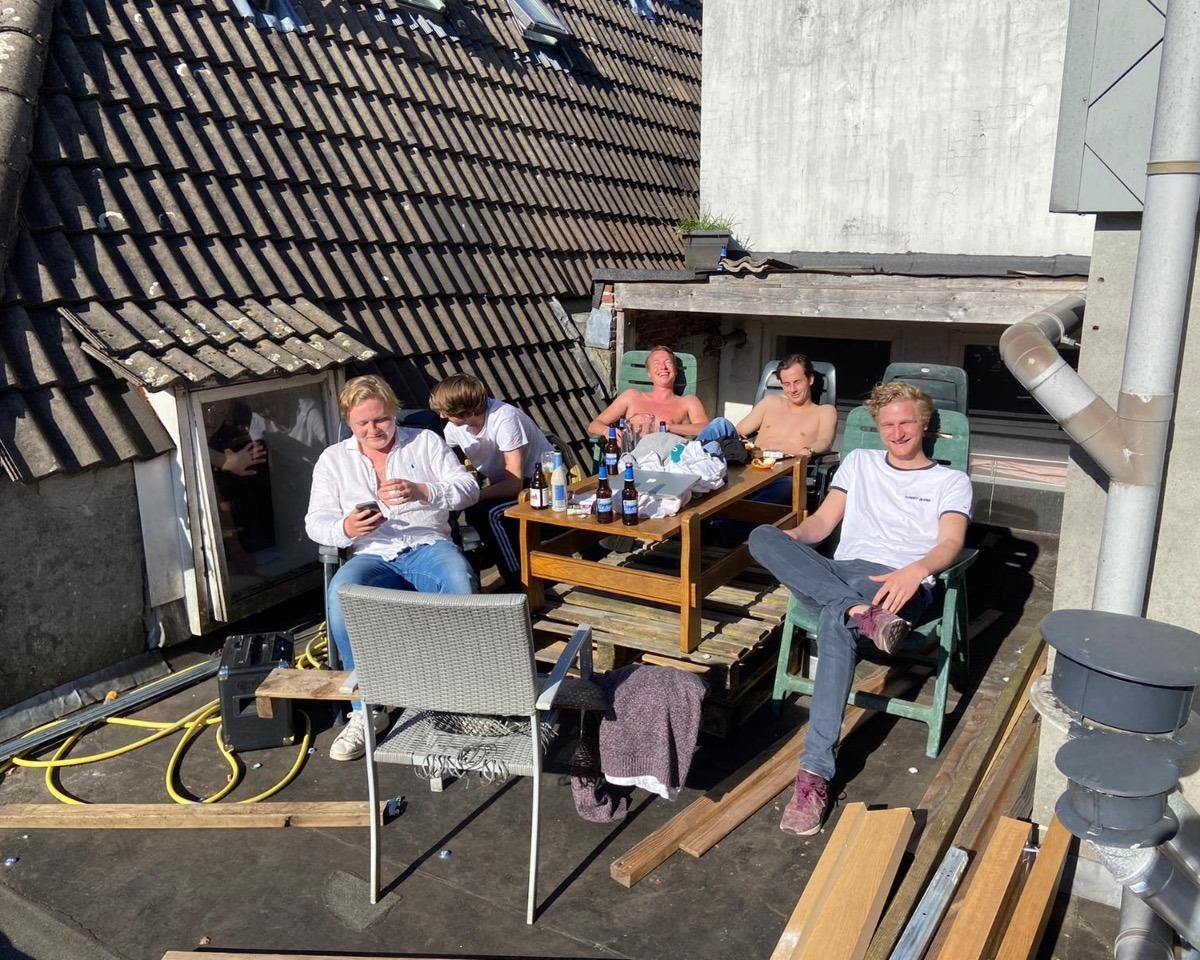 Kamer te huur in de Vismarkt in Groningen