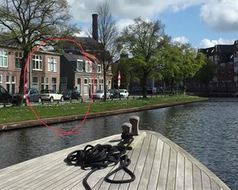 Kamer in Leiden, Rijnsburgersingel op Kamernet.nl: Huis aan de singels hospiteert!