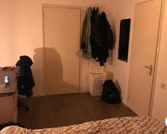 Kamer aan Lange Mare in Leiden