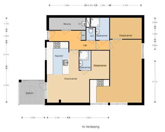 Studio te huur in Enschede voor €675 | Kamernet