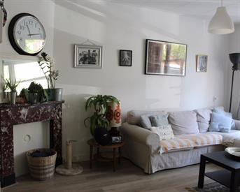 Kamer in Amsterdam, Kuinderstraat op Kamernet.nl: A Large Bedroom In A Nice House With A Garden